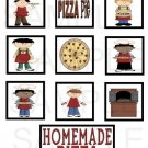 Homemade Pizza - 10 piece set