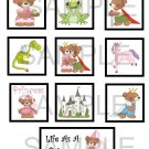 Life As A Princess - 10 piece set