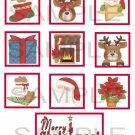 Merry Christmas 2 - 10 piece set