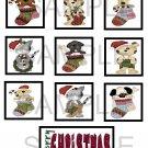 Merry Christmas Pets - 10 piece set
