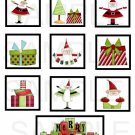 Merry Christmas Santa - 10 piece set