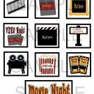 Movie Night - 10 piece set