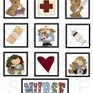 Nurse - 10 piece set