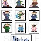 Winter Kids - 10 piece set