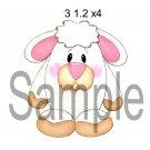 Easter Lamb tm -  Printed Paper Piece