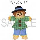 Scarecrow Boy -  Printed Paper Piece