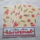 A Holly Jolly Christmas - 4pc Mat Set