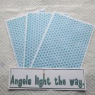 Angels Light The Way - 4pc Mat Set