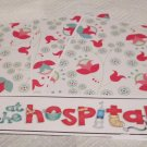 At The Hospital - 4pc Mat Set