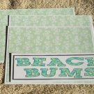 Beach Bums - 4pc Mat Set