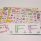 BFF - 4pc Mat Set