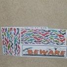 Beware - 4pc Mat Set