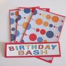 Birthday Bash c - 4pc Mat Set