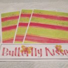 Butterfly Kisses - 4pc Mat Set