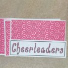 Cheerleaders - 4pc Mat Set