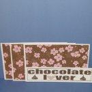 Chocolate Lover - 4pc Mat Set