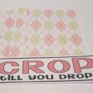Crop Til You Drop - 4pc Mat Set