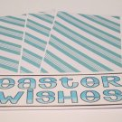 Easter Wishes - 4pc Mat Set