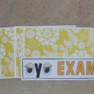 Eye Exam - 4pc Mat Set