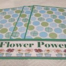 Flower Power - 4pc Mat Set
