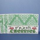 Fresh Cherries - 4pc Mat Set