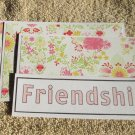 Friendship - 4pc Mat Set