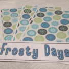 Frosty Days - 4pc Mat Set