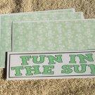 Fun In The Sun - 4pc Mat Set