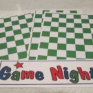 Game Night - 4pc Mat Set