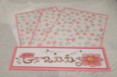 Granny - 4pc Mat Set