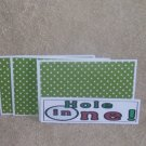 Hole In One - 4pc Mat Set