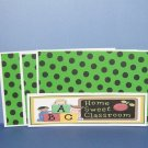 Home Sweet Classroom - 4pc Mat Set
