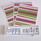 Hoppy Easter a - 4pc Mat Set