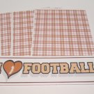 I Love Football - 4pc Mat Set