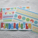 Kindergarten 2 - 4pc Mat Set