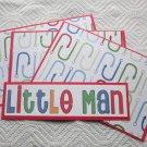 Little Man a - 4pc Mat Set