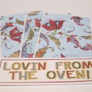 Lovin From The Oven - 4pc Mat Set