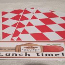 Lunch Time - 4pc Mat Set