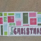 Merry Christmas a - 4pc Mat Set