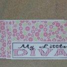 My Little Diva - 4pc Mat Set