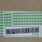 Opening Day - 4pc Mat Set