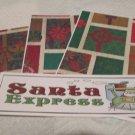 Santa Express  - 4pc Mat Set