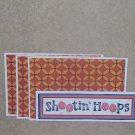Shooting Hoops - 4pc Mat Set