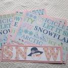 Snow Girl a - 4pc Mat Set