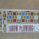 Snow Plowing - 4pc Mat Set