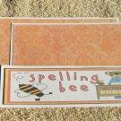 Spelling Bee - 4pc Mat Set