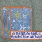 Star Light Star Bright - 4pc Mat Set
