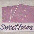 Sweetheart - 4pc Mat Set