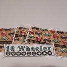 18 Wheeler - 4pc Mat Set