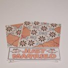 Just Married a - 4pc Mat Set